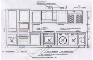 схема кухня