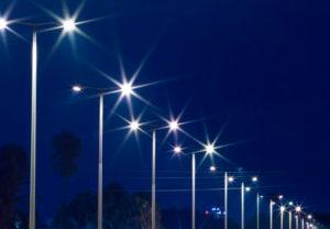 Как сделать монтаж уличного освещения?