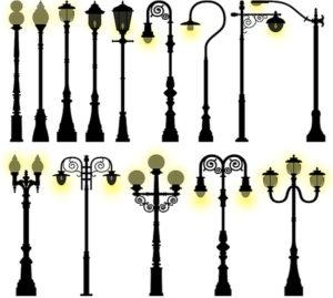 Какой вид уличного освещения бывает?