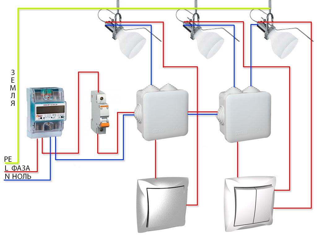 Мотор для вытяжки схема