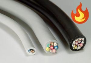 Защита кабеля от огня