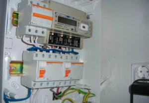 Места монтажа счетчика электричества