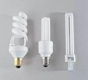 Виды люминисцентных ламп
