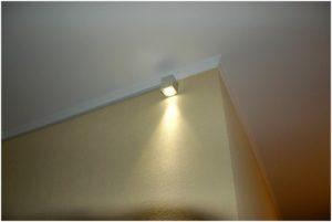 Вариант установки резервного источника света