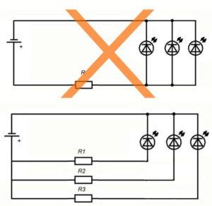 Схема 6 12 вольт