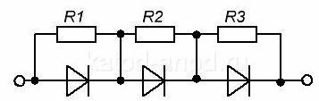 Шунт резистором