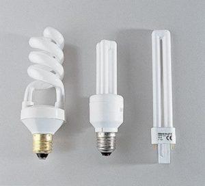 Типы люминесцентных ртутных ламп