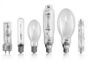 Виды газонаполняемых ламп