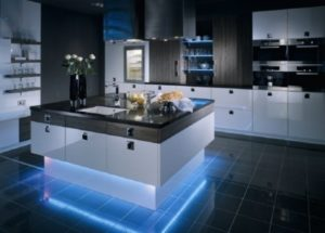 Декоративная подсветка кухни