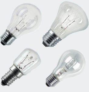 Общий вид ламп галогенного типа