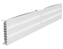Офисный источник света с аварийным блоком освещения встраиваемого типа компании ООО «Ледел»