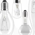 Рис. 3 – Ламп накаливания разной формы