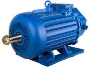 Общий вид электродвигателя кранового