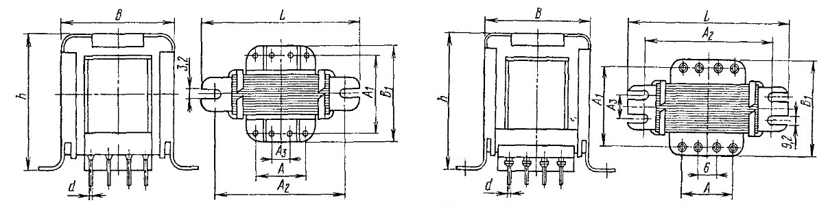 Вид трансформаторов ТОЛ-типа