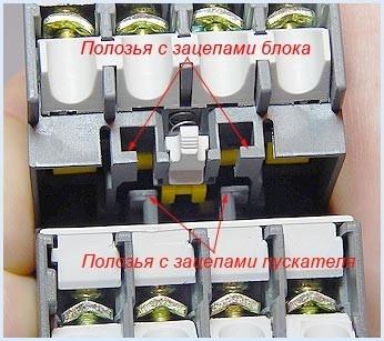 Рис. 2 Полозьями для зацепа на КБ