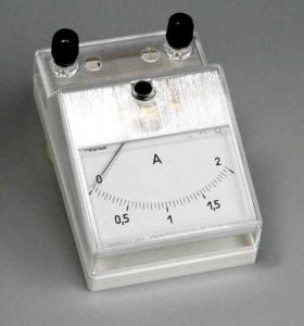 Измеритель электрического заряда с аналоговой шкалой