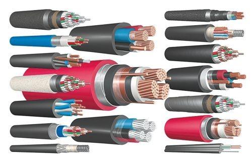 разные виды кабеля