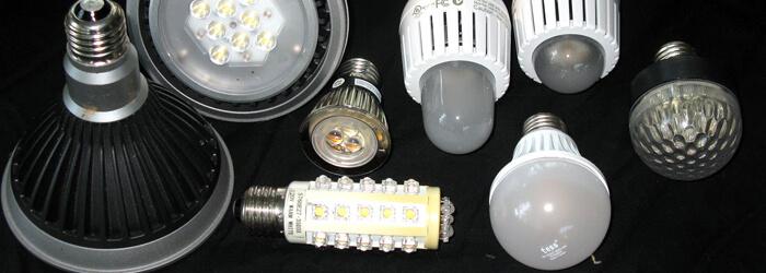 Образцы светодиодных ламп