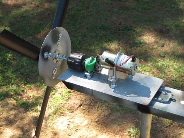 Общий вид самодельного генераторного устройства