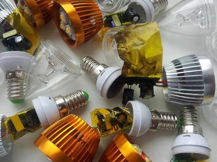 Низкое качество лампочки