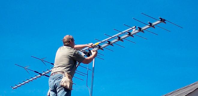 Ремонт телевизионной антенны