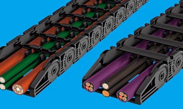Гибкий пластиковый кабель-канал