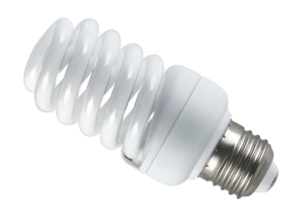 Компактная энергоэффективная лампочка