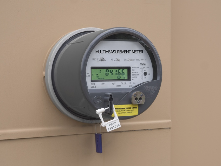 Двухтарифный счетчик электроэнергии с часами