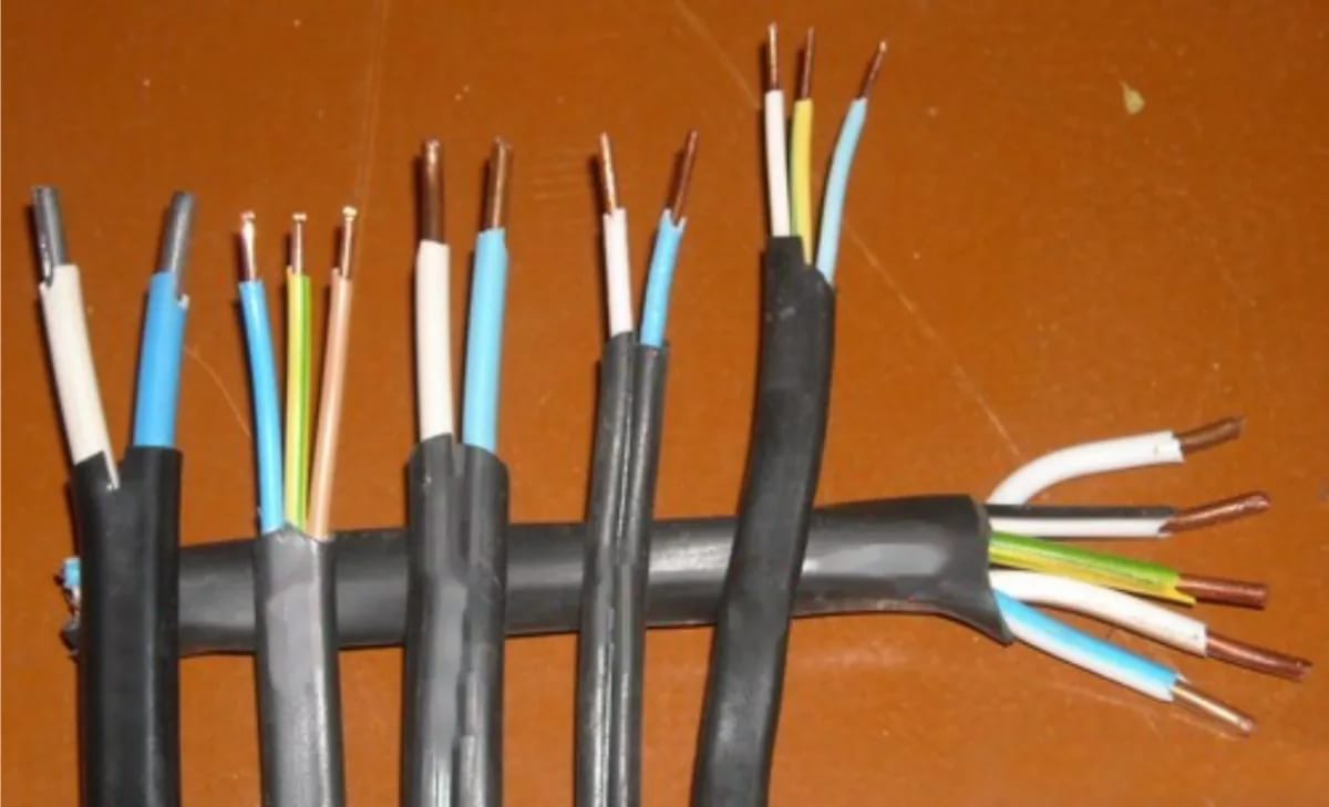 Кабели для электроснабжения квартиры