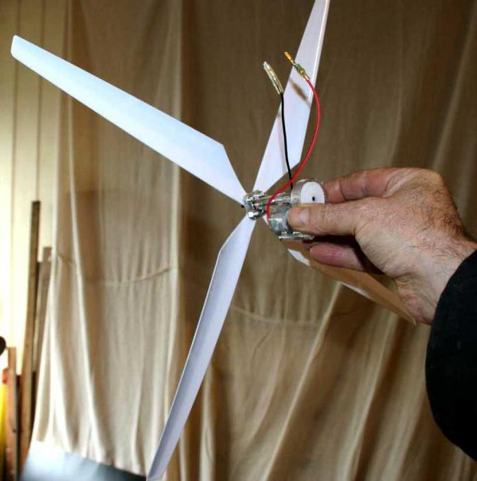 Ветряной источник энергии