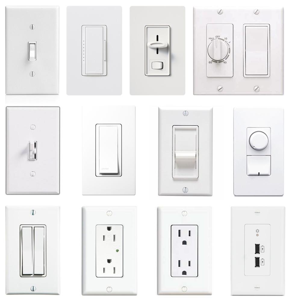 Виды выключателей света