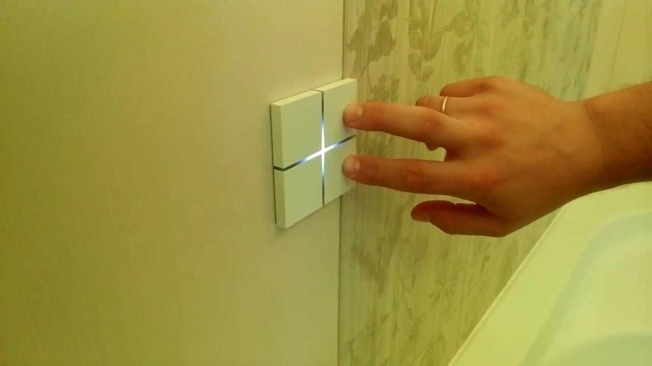 Виды выключателей с подсветкой