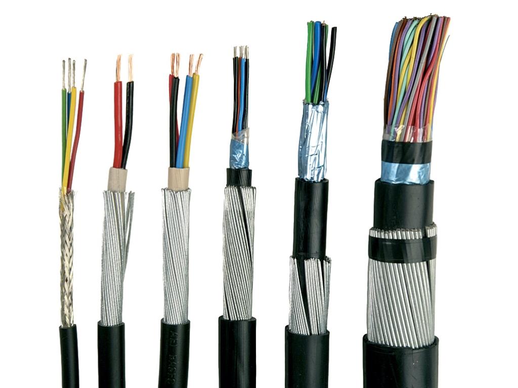 Внутренняя конструкция кабеля
