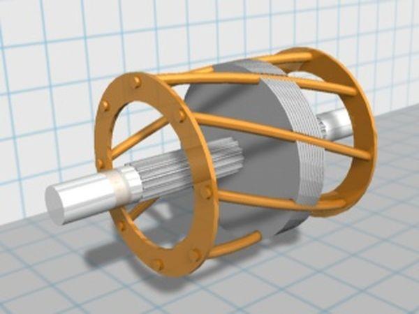 Ротор «беличье колесо»