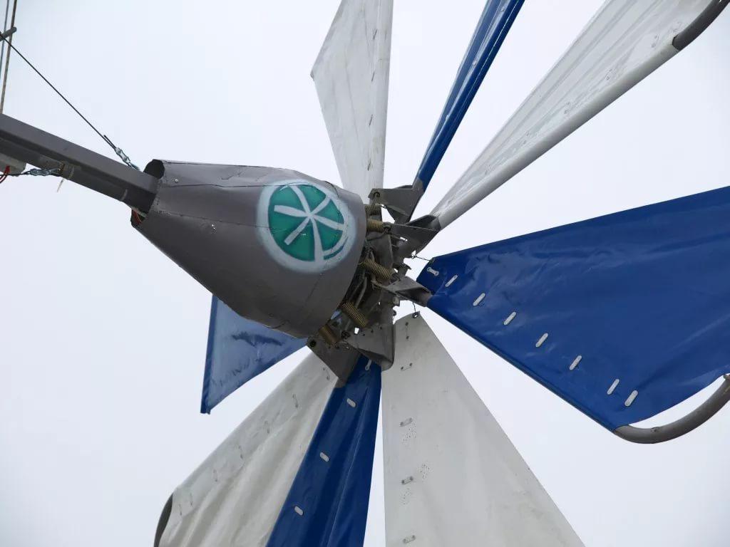 Ветряк парусного типа