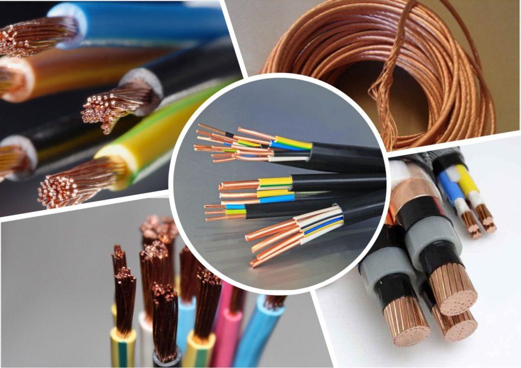 Типы проводов для электропроводки