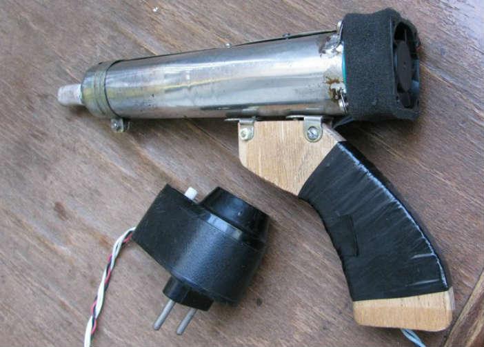 Самодельный мобильный термофен