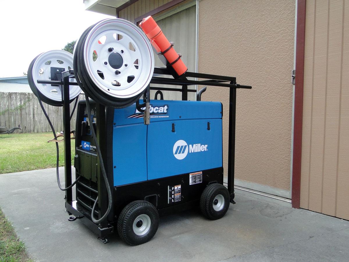 Дизель-генератор для сварочных работ