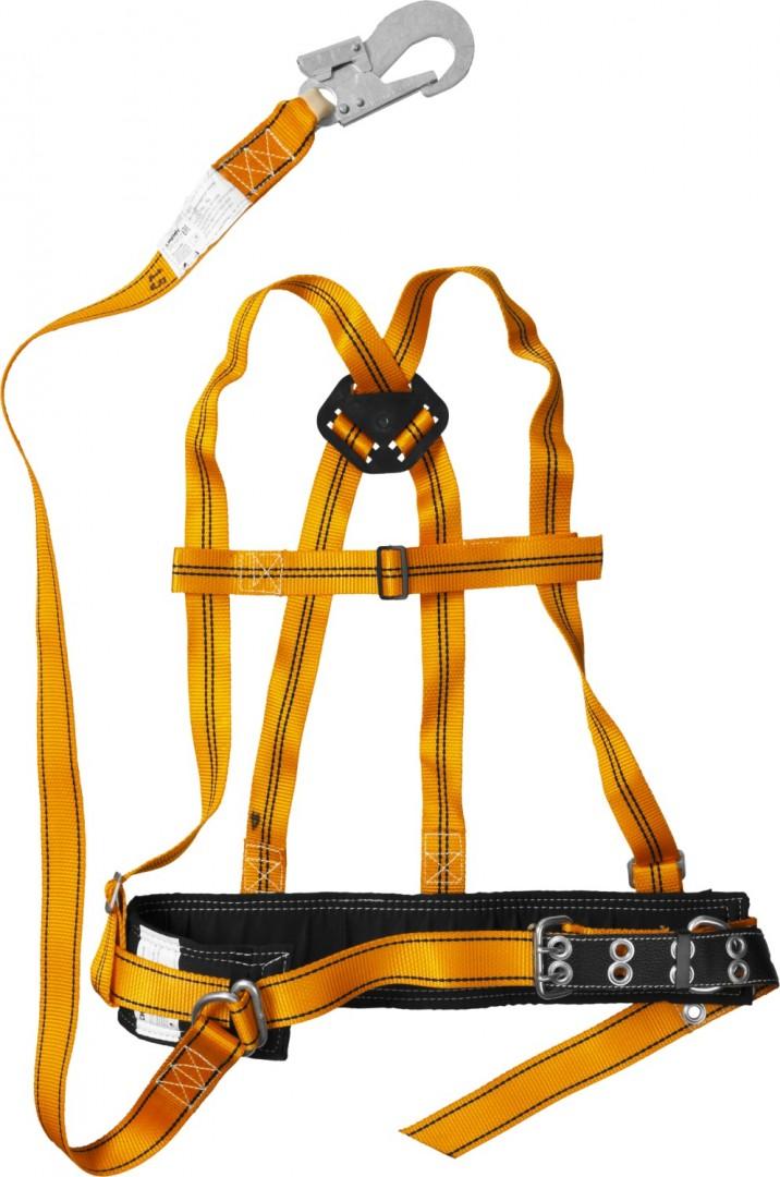 При передвижении по расщепленным проводам необходимо использование предохранительного пояса