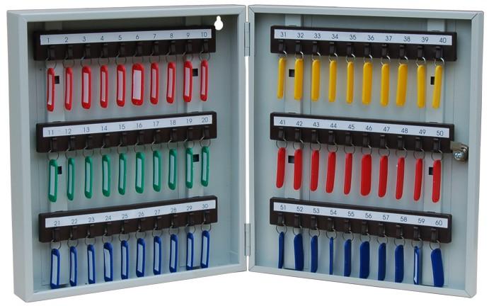 Хранение ключей от электроустановок осуществляется в запирающемся сейфе