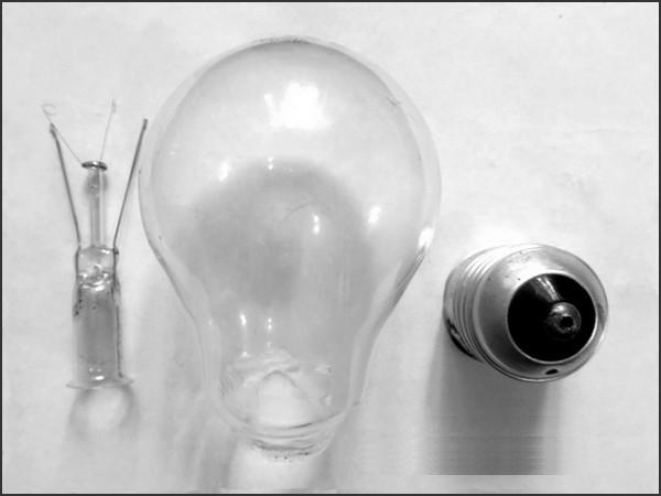 Состав лампочки накаливания