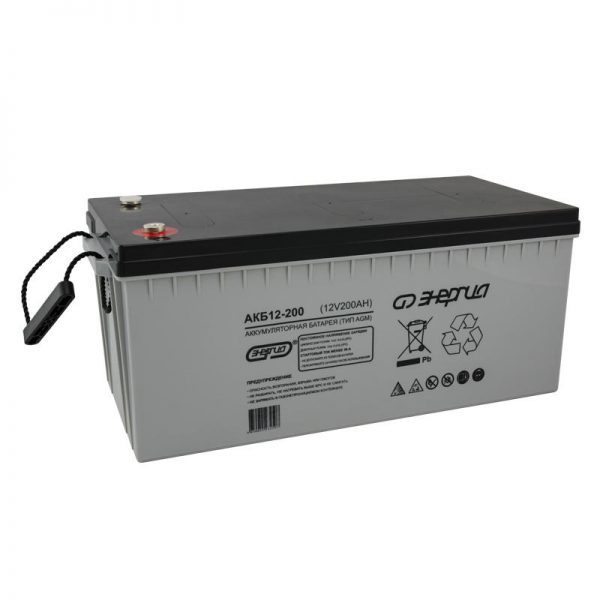 AGM аккумулятор