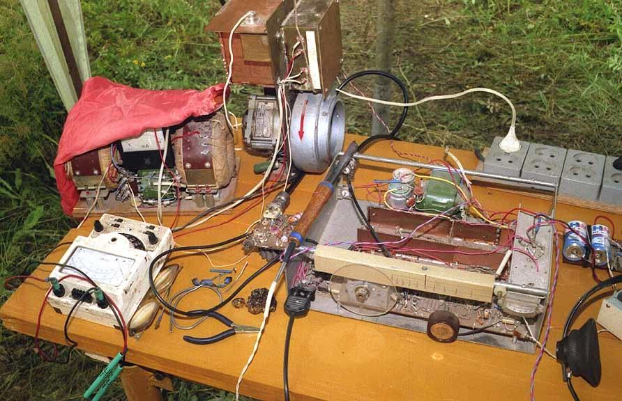 Радиолюбители создают особые конструкции для решения нетривиальных задач