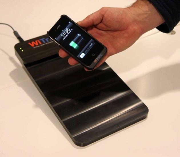 Бесконтактная зарядка смартфона