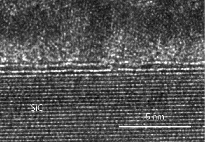 Вид двухслойного графена