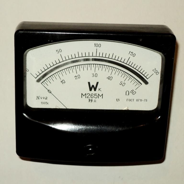 Прибор для измерения электрической мощности