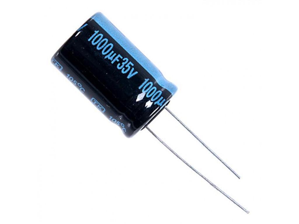Обозначения на корпусе электролитического конденсатора