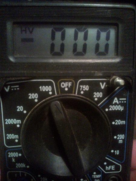 Электронный вольтамперметр – мультиметр