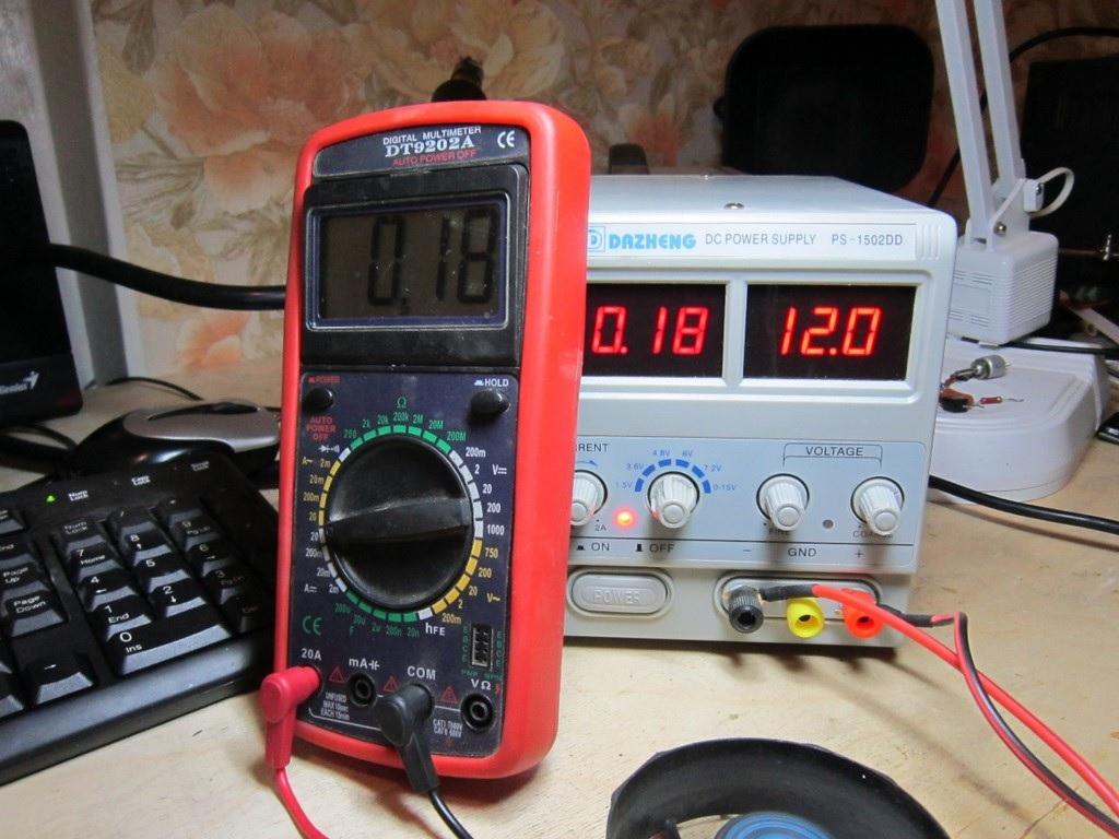 Узнать значение тока можно с помощью измерительных приборов или вычислением