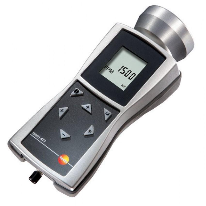 Прибор для измерения частоты вращения – тахометр Testo 477